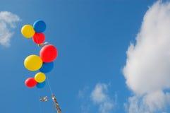 ουρανός μπαλονιών διανυσματική απεικόνιση