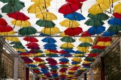 Ουρανός ομπρελών Στοκ εικόνα με δικαίωμα ελεύθερης χρήσης