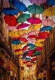 Ουρανός ομπρελών Στοκ εικόνες με δικαίωμα ελεύθερης χρήσης