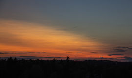 Ουρανός ουράνιων τόξων Στοκ φωτογραφία με δικαίωμα ελεύθερης χρήσης