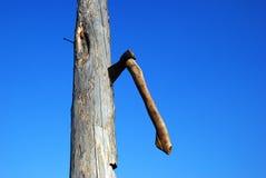 ουρανός πάγκων τσεκουριών backgraund στοκ φωτογραφία με δικαίωμα ελεύθερης χρήσης