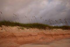 0 ουρανός πέρα από τον αμμόλοφο Στοκ Εικόνες