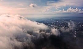 Ουρανός πέρα από το Ρίο ντε Τζανέιρο στοκ εικόνα με δικαίωμα ελεύθερης χρήσης