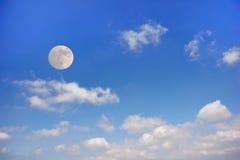 ουρανός πανσελήνων σύννεφ Στοκ Φωτογραφία