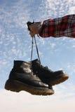ουρανός παπουτσιών Στοκ Φωτογραφίες