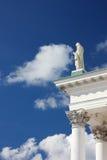 ουρανός πορτών που χτυπά τ&omi Στοκ φωτογραφία με δικαίωμα ελεύθερης χρήσης