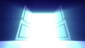 ουρανός πορτών απόθεμα βίντεο