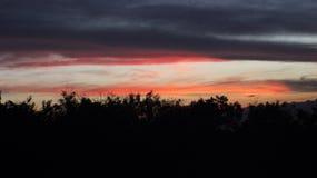 Ουρανός που ποτέ ύπνος Στοκ Εικόνες