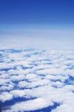 ουρανός πτήσης σύννεφων ύψ&omicro Στοκ Εικόνα