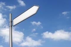ουρανός σημαδιών Στοκ φωτογραφία με δικαίωμα ελεύθερης χρήσης