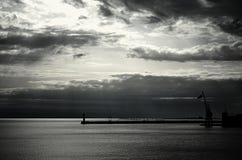 Ουρανός σιδήρου Στοκ Φωτογραφία