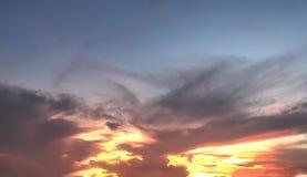 Ουρανός στην Ταϊλάνδη στοκ εικόνες