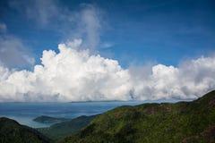 Ουρανός στην Ταϊλάνδη Στοκ Φωτογραφία