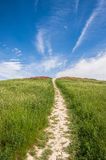 ουρανός στον τρόπο Στοκ εικόνα με δικαίωμα ελεύθερης χρήσης
