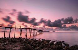 ουρανός στον τρόπο Στοκ Φωτογραφίες