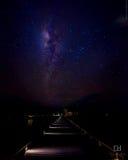 ουρανός στον τρόπο Στοκ εικόνες με δικαίωμα ελεύθερης χρήσης