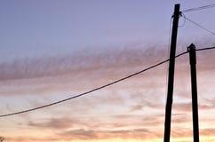 Ουρανός στο ηλιοβασίλεμα στοκ φωτογραφία με δικαίωμα ελεύθερης χρήσης