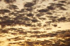 Ουρανός στο σούρουπο Στοκ εικόνες με δικαίωμα ελεύθερης χρήσης