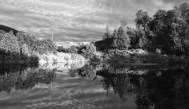 ουρανός σχηματισμών επαρχίας Στοκ Εικόνες