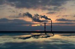 ουρανός σωλήνων Στοκ εικόνες με δικαίωμα ελεύθερης χρήσης