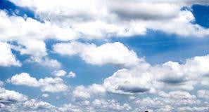 Ουρανός σύννεφων το απόγευμα Στοκ Εικόνα