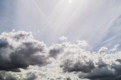 ουρανός σύννεφων Στοκ Φωτογραφία