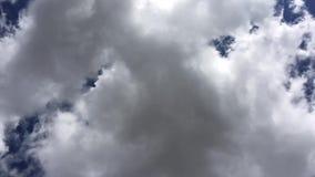 ουρανός σύννεφων απόθεμα βίντεο