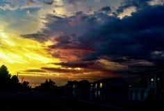ουρανός ταραχώδης στοκ φωτογραφία με δικαίωμα ελεύθερης χρήσης