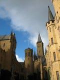 ουρανός της Γερμανίας κάστρων Στοκ Εικόνες