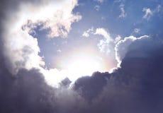 Ουρανός της ελπίδας Στοκ Εικόνες