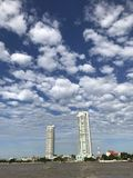 Ουρανός της Μπανγκόκ Στοκ Εικόνα