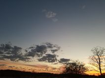 Ουρανός της Οκλαχόμα Στοκ Φωτογραφίες