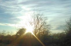 Ουρανός της Οκλαχόμα στοκ φωτογραφίες με δικαίωμα ελεύθερης χρήσης
