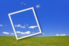 ουρανός τοπίων πεδίων στοκ φωτογραφίες με δικαίωμα ελεύθερης χρήσης