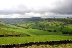 ουρανός τοπίων που ενοχ&lamb στοκ φωτογραφία