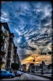 Ουρανός του Καίρου στοκ φωτογραφία με δικαίωμα ελεύθερης χρήσης