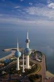 ουρανός του Κουβέιτ Στοκ Φωτογραφίες