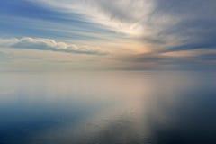 ουρανός του Μίτσιγκαν λ&iota Στοκ φωτογραφία με δικαίωμα ελεύθερης χρήσης