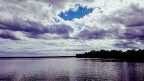 Ουρανός του Μίτσιγκαν Στοκ φωτογραφία με δικαίωμα ελεύθερης χρήσης