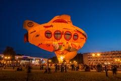 Ουρανός του φεστιβάλ του ST Sergius του ζεστού αέρα Στοκ φωτογραφία με δικαίωμα ελεύθερης χρήσης