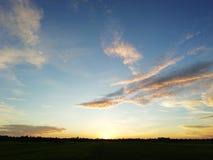 Ουρανός το πρωί 2 στοκ φωτογραφία