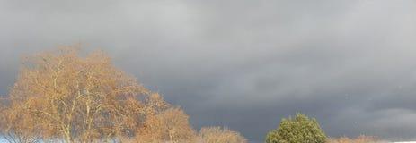 Ουρανός το φθινόπωρο στοκ εικόνες με δικαίωμα ελεύθερης χρήσης