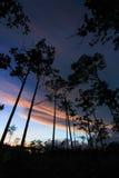 Ουρανός λυκόφατος στο γιο Thung μη Στοκ εικόνες με δικαίωμα ελεύθερης χρήσης