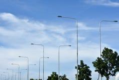 Ουρανός & φως δύναμης Στοκ εικόνα με δικαίωμα ελεύθερης χρήσης