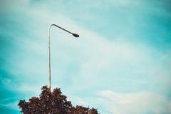 Ουρανός & φως δύναμης Στοκ Εικόνα