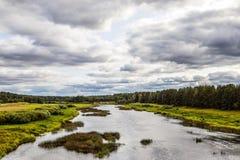 ουρανός φύσης λιμνών σύννεφων Στοκ Φωτογραφία