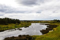 ουρανός φύσης λιμνών σύννεφων Στοκ Εικόνα
