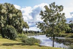 ουρανός φύσης λιμνών σύννεφων Στοκ εικόνα με δικαίωμα ελεύθερης χρήσης