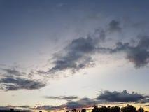 Ουρανός φύσης Στοκ Φωτογραφίες