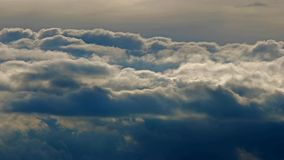 Ουρανός χρονικού σφάλματος απόθεμα βίντεο